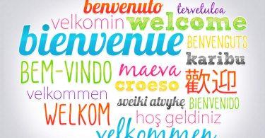 dire bonjour multilangue