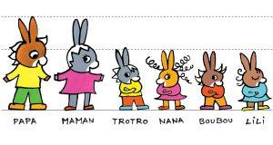 personnages de l'ane trotro